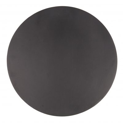 517 17b Deco plate black Ø30