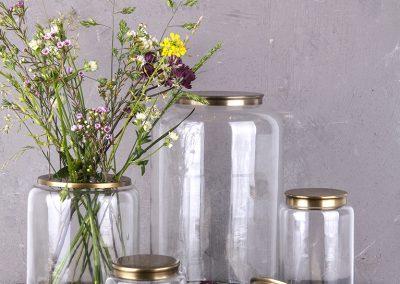 No517_Glas med blomster