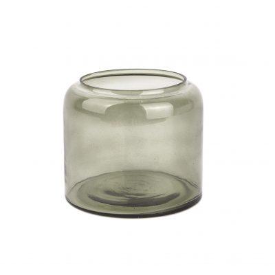 Noor algegrøn fyrfadsglas