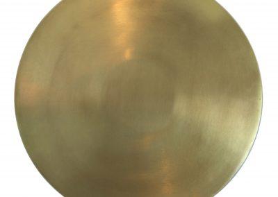 517-17a Cirkel bakke brass