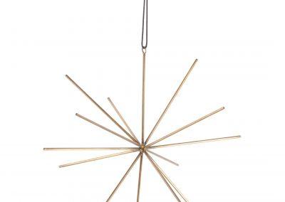 517-85a Viola stjerne brass 25cm